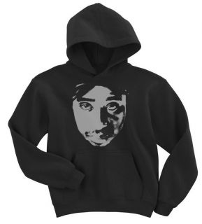 TUPAC SHAKUR KIDS MUSIC HOODIE BOYS GIRLS HIP HOP RAP NEW HOODED TOP