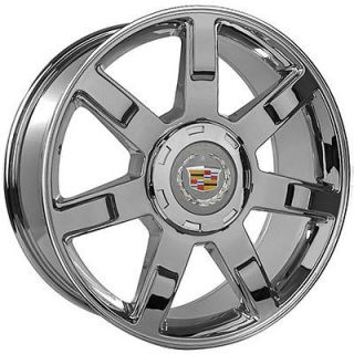 22 inch cadillac escalade chrome wheels rims