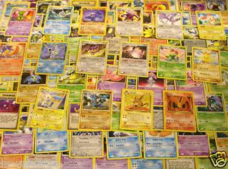 Newly listed POKEMON ALL RARE CARDS LOT RARES ONLY $40 VALUE