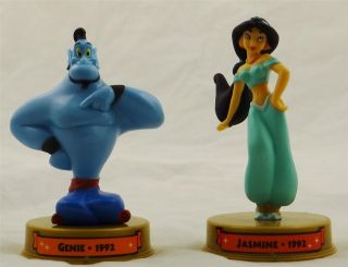 MCDONALDS 100 YEARS OF MAGIC WALT DISNEY WORLD 2002 ALADDIN JASMINE