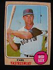 1968 topps boston red sox carl yastrzemski card buy it