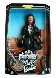 Barbie Collector Edition Harley Davidson Ken Doll 1998 # 1 Box