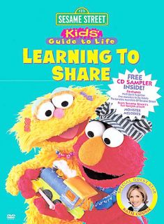 Sesame Street   Learning To Share DVD, 2003