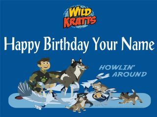 Wild Kratts   1   Edible Photo Cake Topper   Personalized   $3.00