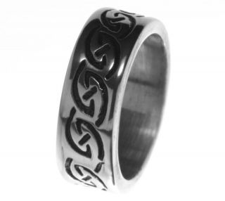 alpaca silver ring r4 eternity celtic knots rings us 11