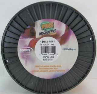 Newly listed Fins PRT SPECTRA Braid Fishing Line 2000 yds Yellow 100