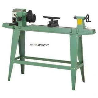 NEW! WOOD LATHE REVERSIBLE HEAD SHOP TOOLS 3/4 HP! L@@K