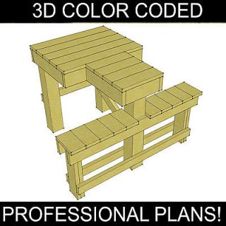 DIY Shooting Bench Plans, heavy duty, PROFESSIONAL PLANS! BETTER