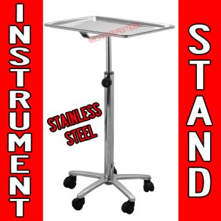 Piercing Instrument Stand STAINLESS STEEL TRAY Equipment Tools Mayo