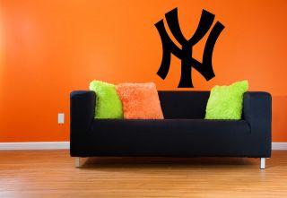 Yankees Premium Removable Wall Art Decor Decal Sticker Mural Baseball