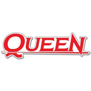 queen freddie mercury music band bumper sticker 6 x 3