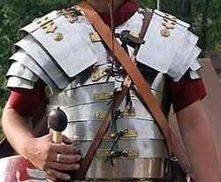 roman lorica segmenta breastplate full size replica