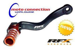 RFX Folding Gear shift lever black / orange KTM SX 250 2004   2011