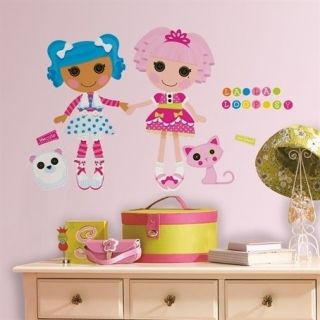 LALALOOPSY GIANT wall stickers 32 decal Jewel Sparkles Mittens Fluff N