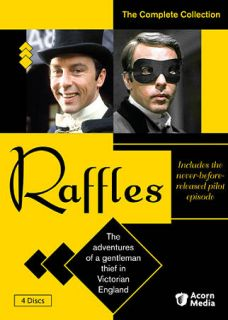 Raffles The Complete Collection DVD, 2010, 4 Disc Set
