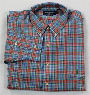 mens ralph lauren button down shirts in Casual Shirts