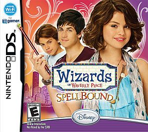wizards of waverly place spellbound nintendo ds game time left