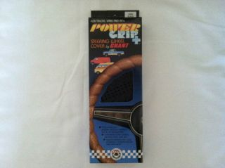 PowerGrip Steering Wheel Cover Grant Black Lace On DIY 22 to 24