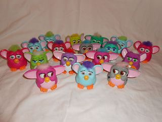 mcdonald s furby toys lot of 17 time left $