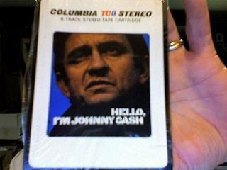 Johnny Cash  Hello, Im Johnny Cash  used 8 Track tape  great