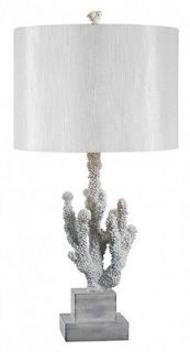 kenroy home 32166wh coral table lamp  122