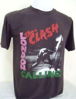 The Clash Punk Rock Nice Cool Men Soft Good Quality T Shirt, L