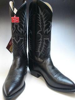tony lama 13 black pampas western boots vm2993