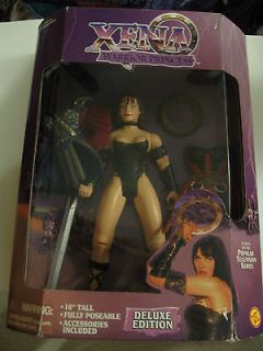 XENA WARRIOR PRINCESS 10 TALL DELUXE EDITION FULLY POSEABLE DOLL