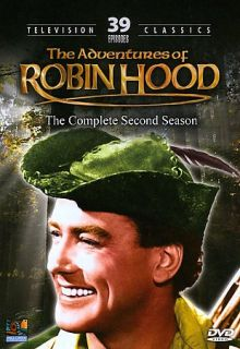 The Adventures of Robin Hood   The Complete Second Season DVD, 2008, 3