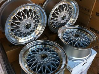 STYLE SILVER WHEELS RIMS TOYOTA COROLLA CELICA SCION FRS TC XD JDM TRD
