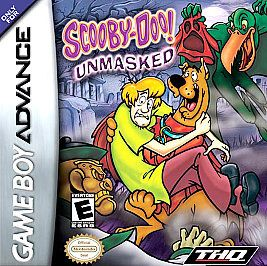 Scooby Doo Unmasked Nintendo Game Boy Advance, 2005