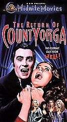 Return of Count Yorga VHS, 2000