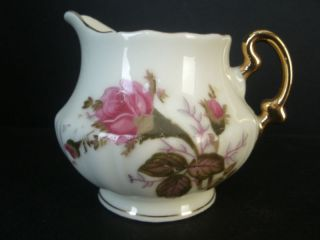 royal sealy china japan mini creamer moss rose time left