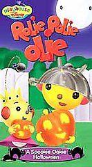 Rolie Polie Olie A Spookie Ookie Halloween VHS, 2001