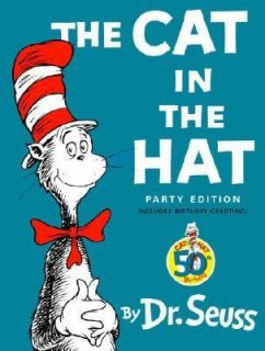 The Cat in the Hat by Dr. Seuss 2007, Hardcover, Large Type