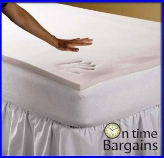 double size bed 7 5cm visco memory foam mattress topper from australia