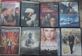PG DVDs   The Office, Thunderbirds, Cat Woman, Man in The Iron