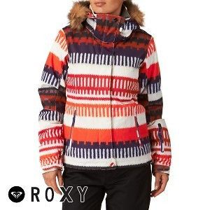 roxy jet ski snow womens jacket peru jacquard location united