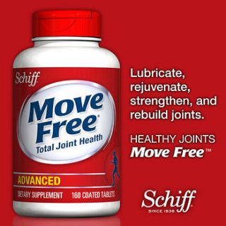 schiff move free advanced triple strength 160 tablets time left