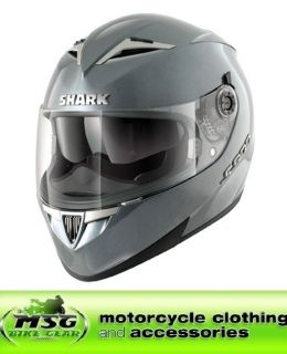 shark s900 prime motorcycle crash helmet medium silver slv from