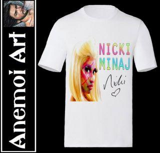 Nicki Minaj ROMAN SIGNED autographed T shirt T Shirt secret santa