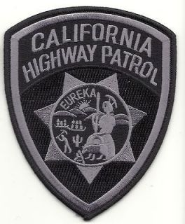 california highway patrol subdued ca patch  4