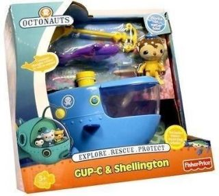 Newly listed BNIB Gup C & Shellington   Octonauts