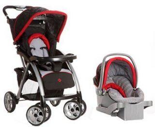 safety 1st saunter luxe travel system stroller black new elite