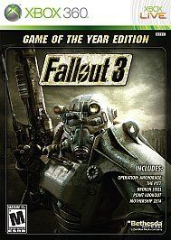 Newly listed Fallout 3 (Game of the Year Edition) (Xbox 360, 2009)