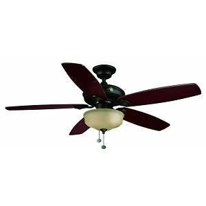 Newly listed Hampton Bay Sibley 52 in. Oil Rubbed Bronze Ceiling Fan