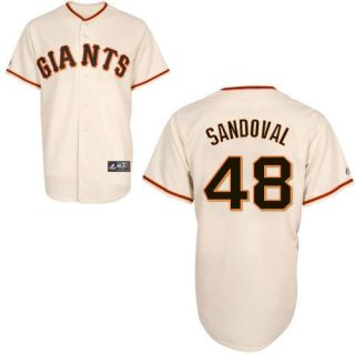 Pablo Sandoval San Francisco Giants Majestic Replica Jersey Any Size