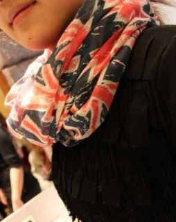 UK Scarf UNION JACK Flag Prints Womens Ladies Souvenir Scarves 2