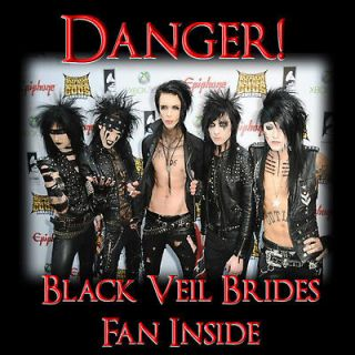 Black veil Brides Andy Biersack Sixx Laminated Door sign   Great gift