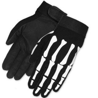 Mechanics Preferred Skeleton Gloves Large   Durable and Heavy Duty